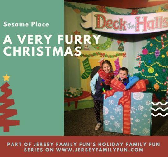 A Very Furry Christmas at Sesame Place Christmas