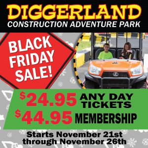 Diggerland Black Friday Sales