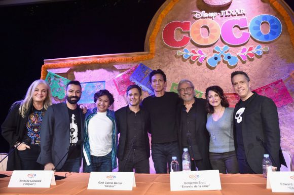 Disney Pixar Coco press junket interviews
