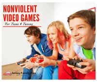 Fantastic NonViolent Video Games for Teens & Tweens