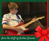 Give the Gift of Guitar Lessons for the Holidays with Fender Play guitar lessons at home