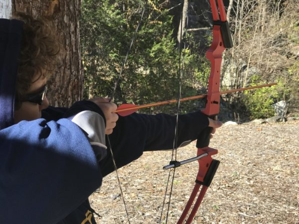 Archery is one of the things to do with kids at the Crystal Springs Resort Grand Cascades Lodge Quarry with Archery Range