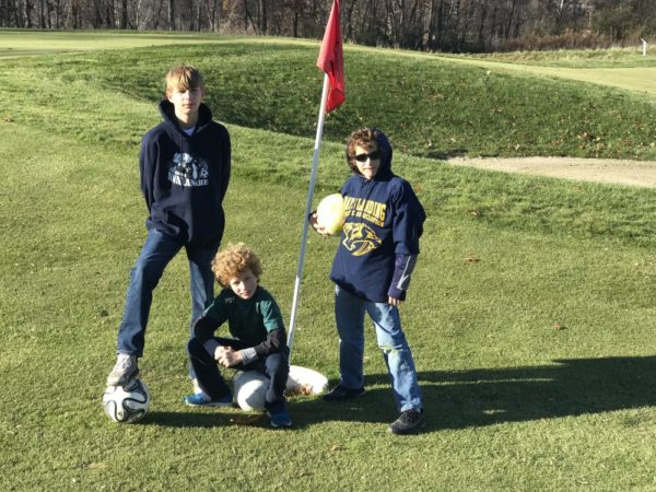 Archery is one of the things to do with kids at the Crystal Sp.rings Resort Grand Cascades Lodge Footgolf course provides another things to do with kids at Crystal Springs Resort.