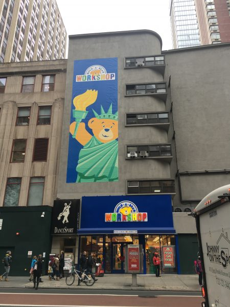 Build a Bear NYC A Build a Bear Workshop located in New York City