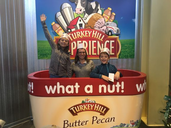 Turkey Hill ice cream at the Turkey Hill Experience