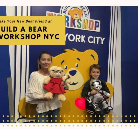 Make Your New Best Friend at Build A Bear NYC Build a Bear Workshop