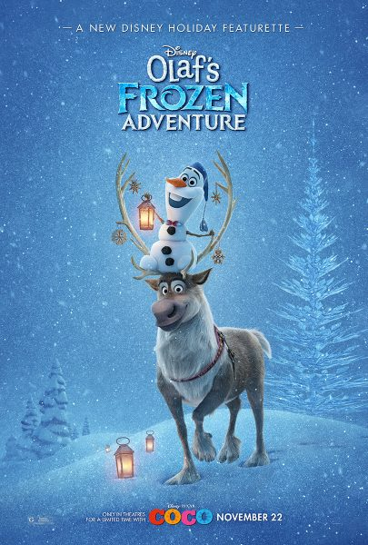 Olaf's Frozen Adventure poster image