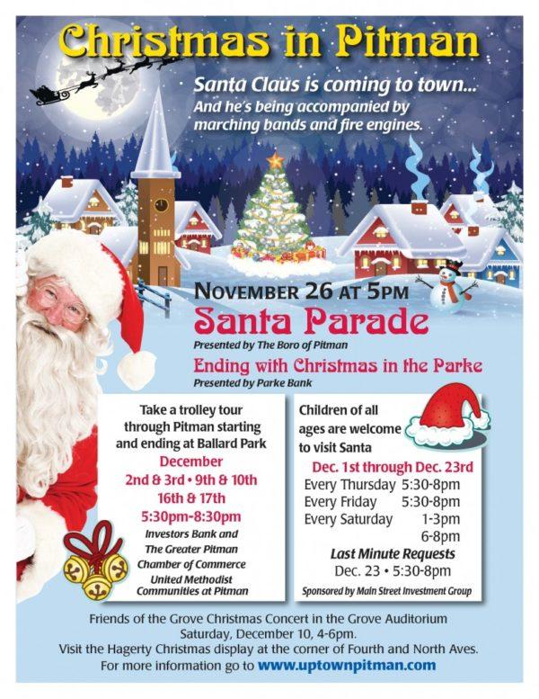 pitman santa parade - Pitman Christmas Lights