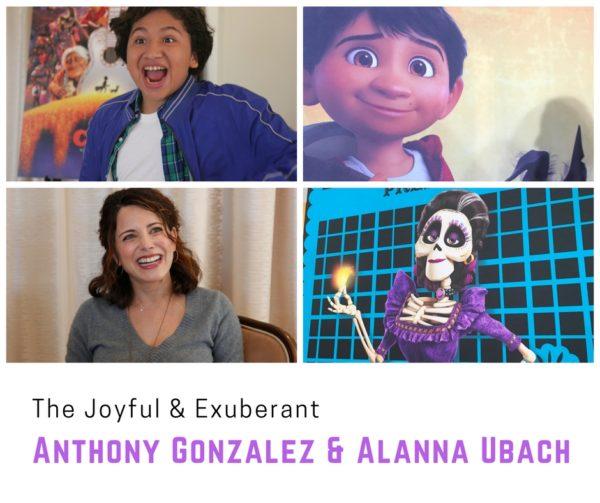 The Joyful & Exuberant Anthony Gonzalez & Alanna Ubach from Disney Pixar Coco #PixarCocoEvent
