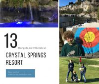 13 Things to do with Kids At Crystal Springs Resort
