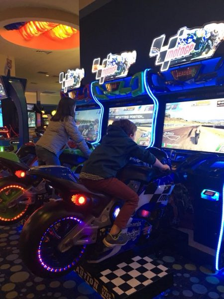 iplay arcade games are a hit with teens.