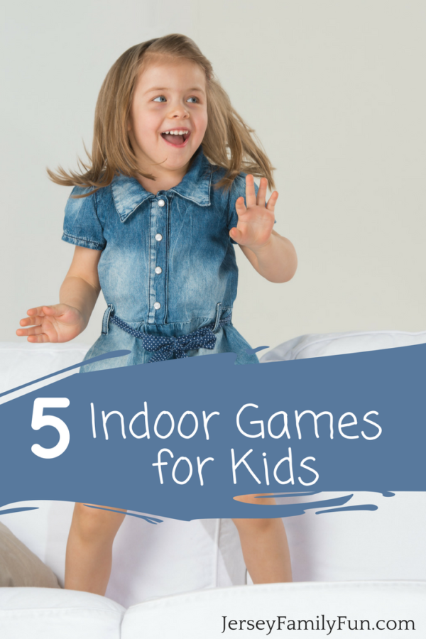 5 Indoor Games for Kids - JerseyFamilyFun.com