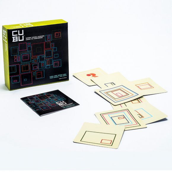 CUBU from Funnybone Toys new games for family game night