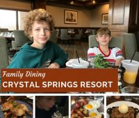 Crystal Springs Resort Restaurants & Dining Options
