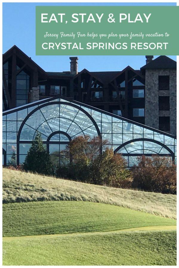 EAT STAY PLAY Crystal Springs Resort
