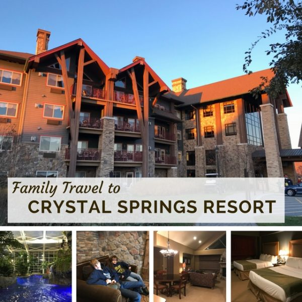 Family Travel to Crystal Springs Resort