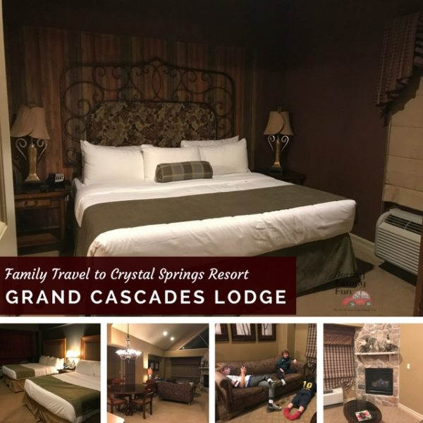 Grand Cascades Lodge at Crystal Springs Resort in Hamburg New Jersey