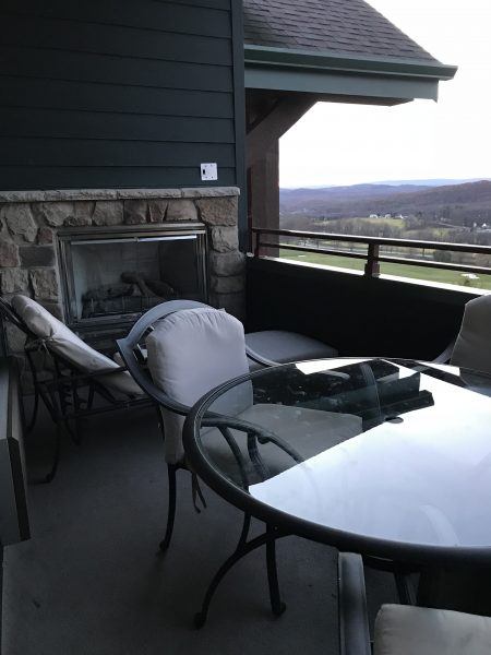 Crystal Springs Resort Grand Cascades Lodge 1 bedroom Suite balcony