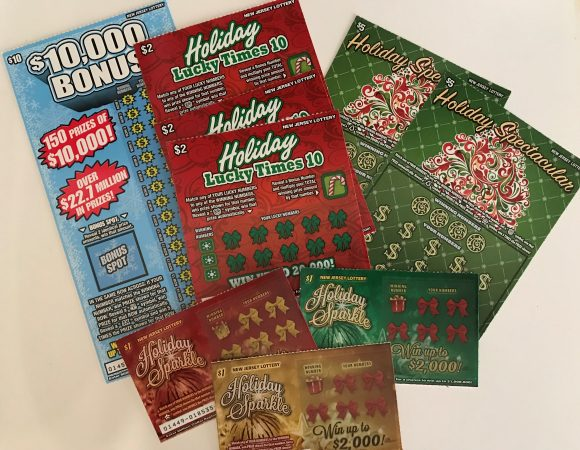 New Jersey Holiday Instant Games