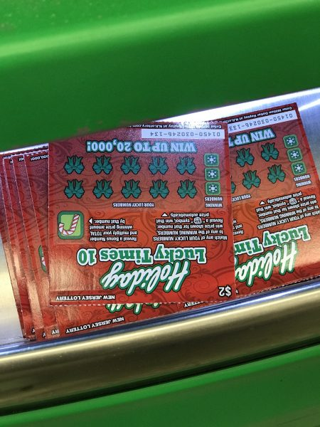 New Jersey Lottery Instant Games machine