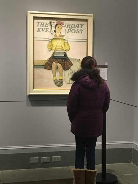 The Norman Rockwell Museum has several Normal Rockwell Paintings, Norman Rockwell prints, and Norman Rockwell pictures.