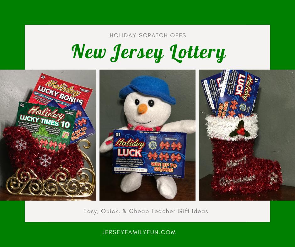 New Jersey Lottery Holiday Scratch Offs Teacher Gift Ideas