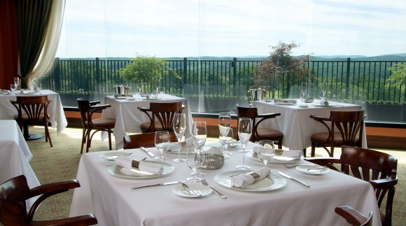 Restaurant Latour Interior at Grand Cascades Lodge at Crystal Springs Resort