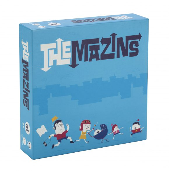 The Mazins New Games for Family Game Night
