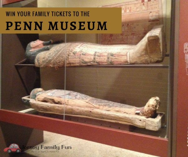 Win your family tickets to the Penn Museum