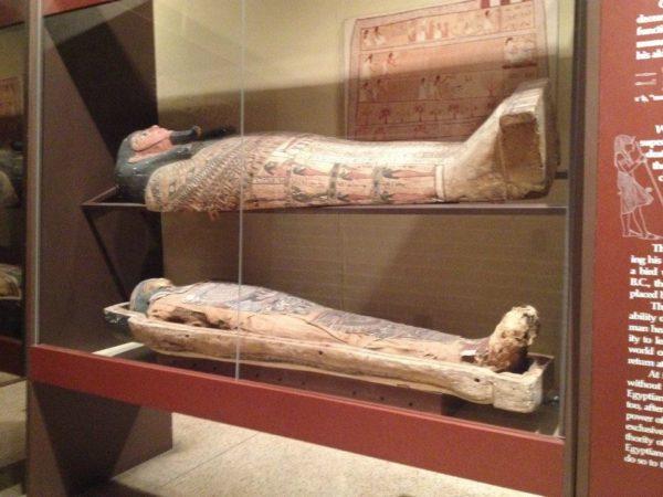 mummies at Penn Museum
