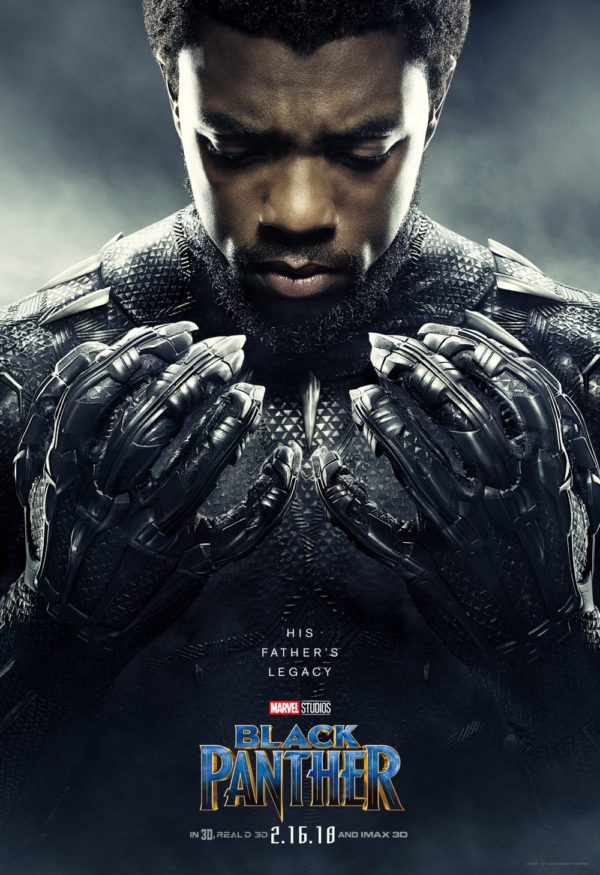 Chadwick Boseman as T'Challa / Black Panther: The king of the fictional African nation of Wakanda.