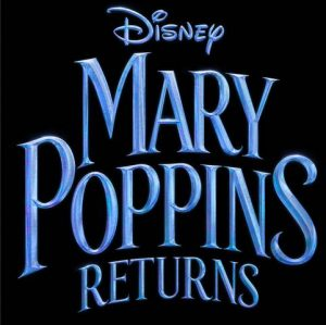 Disney Mary Poppins Returns movie image with words