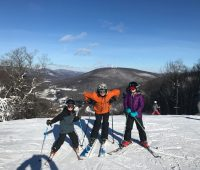 Jiminy Peak Mountain Resort offers ski lessons for kids in Massachusetts.