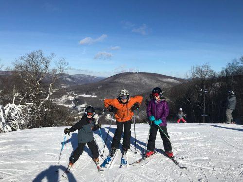 Jiminy Peak Mountain Resort offers ski lessons for kids in Massachusetts.