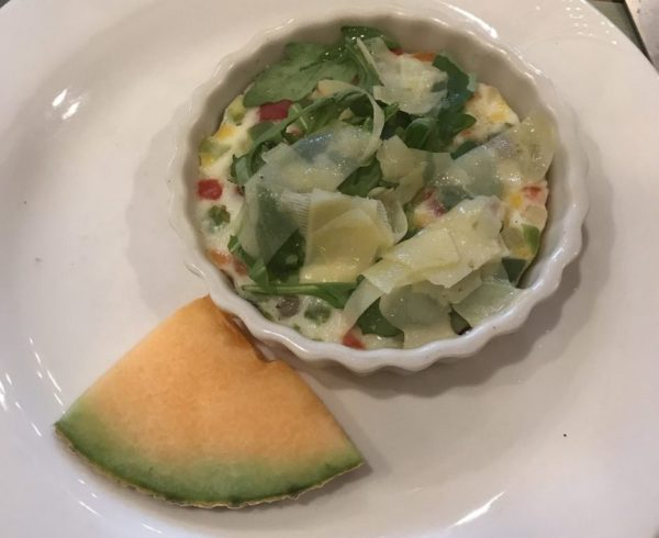 Gluten-Free Quiche was a delicious option for breakfast at Woodloch Resort.
