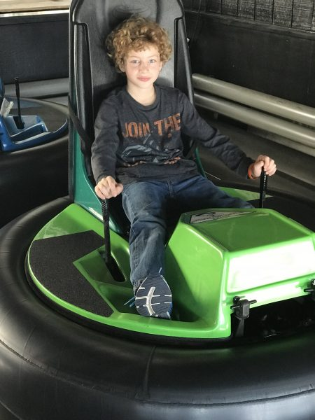 Bumper Cars is another one of the indoor Things to do at Woodloch Resort