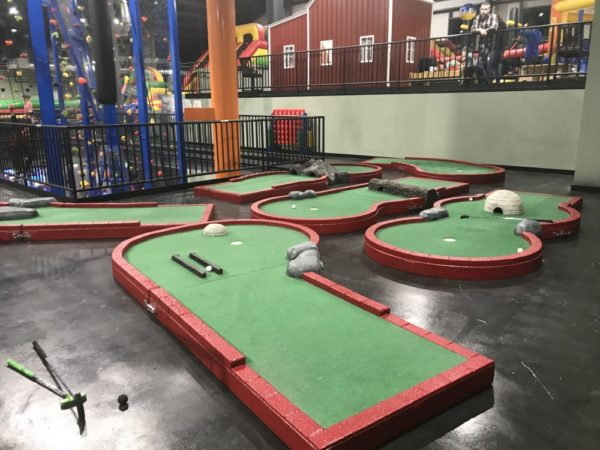 The Smugglers Notch Kid Zone 2.0 also offers a minitature golf course - Photo Credit Jersey Family Fun