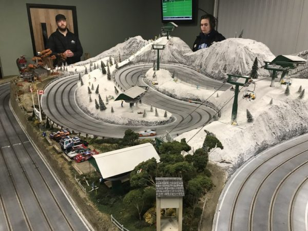 Smugglers Notch Kid Zone 2.0 Slot Car Race - Photo credit Jersey Family Fun