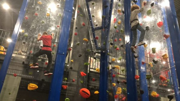 Smugglers Notch Kid Zone 2.0 Rock Climbing Wall - Photo Credit Jersey Family Fun