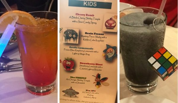 Woodloch Resort specialty drinks for kids are available at an additional cost.
