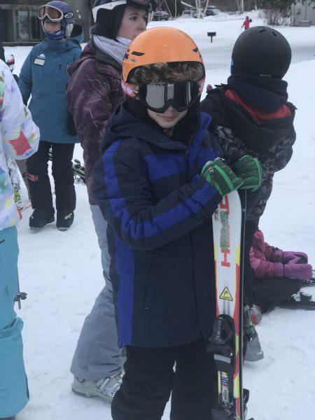 Ready to ski at Smuggler's Notch Resort photo credit Jersey Family Fun