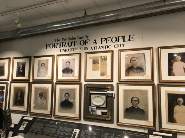 Portrait of a people unearthed in Atlantic City exhibit African American Heritage Museum of Southern New Jersey Atlantic City location photo credit Jersey Family Fun