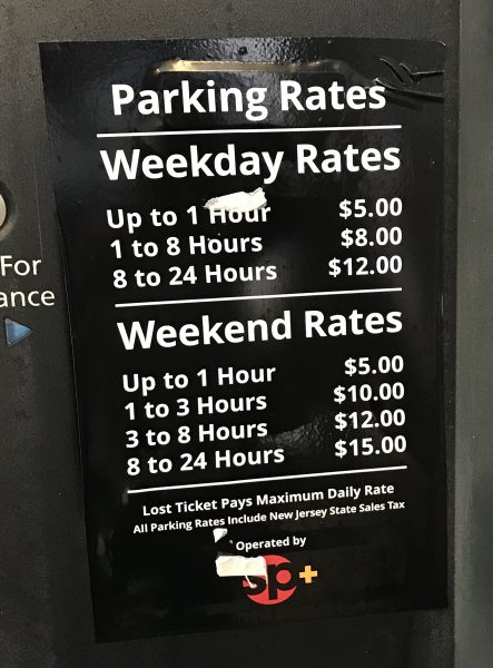 Noyes Art Garage Parking Rates