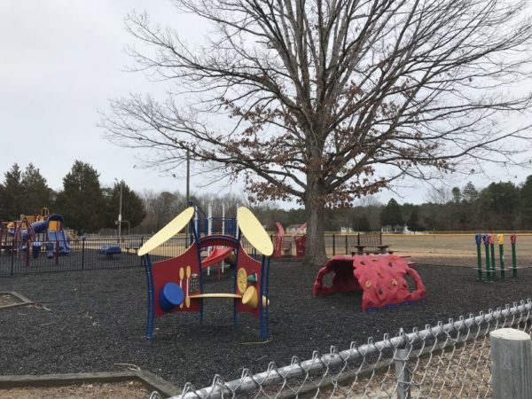 preschool playground at Wilder Hines Park in Newtonville in Buena Vista photo credit Jersey Family Fun