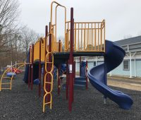 Big kids playground at Wilder Hines Park in Newtonville in Buena Vista photo credit Jersey Family Fun