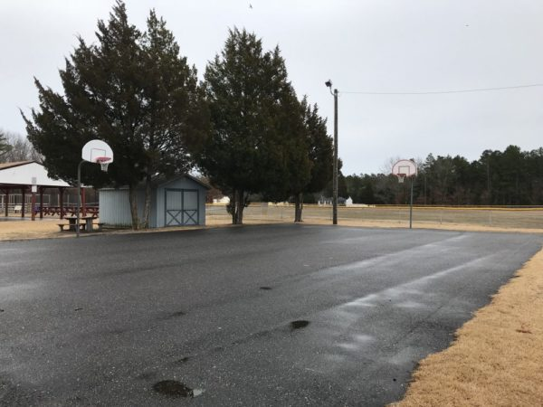 Basketball courts at Wilder Hines Park in Newtonville in Buena Vista photo credit Jersey Family Fun