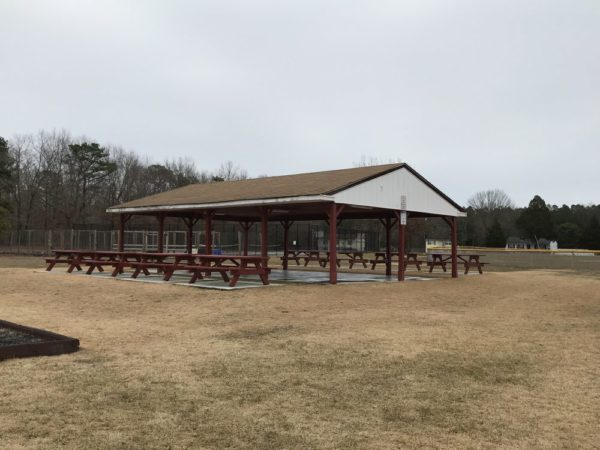 picnic pavillion at Wilder Hines Park in Newtonville in Buena Vista photo credit Jersey Family Fun