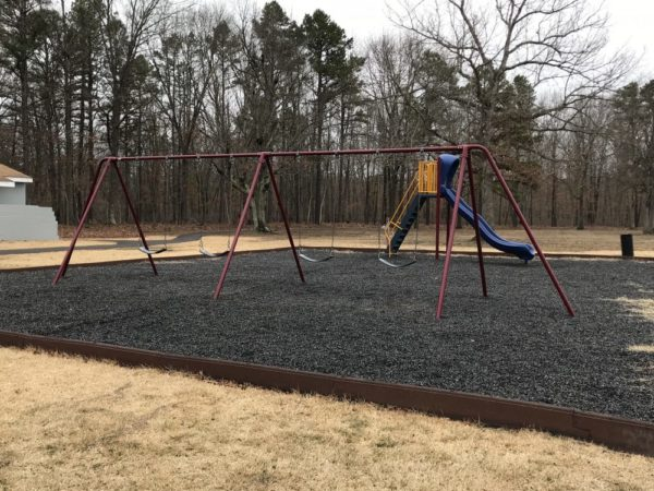 swings at Wilder Hines Park in Newtonville in Buena Vista photo credit Jersey Family Fun