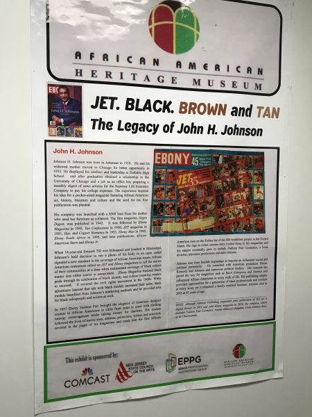Jet black brown and tan exhibit African American Heritage Museum of Southern New Jersey - Newtonville location photo credit Jersey Family Fun