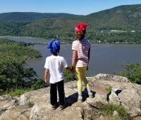 Anthony's Nose Hiking Trail in New York makes for a good New York hiking trail for kids